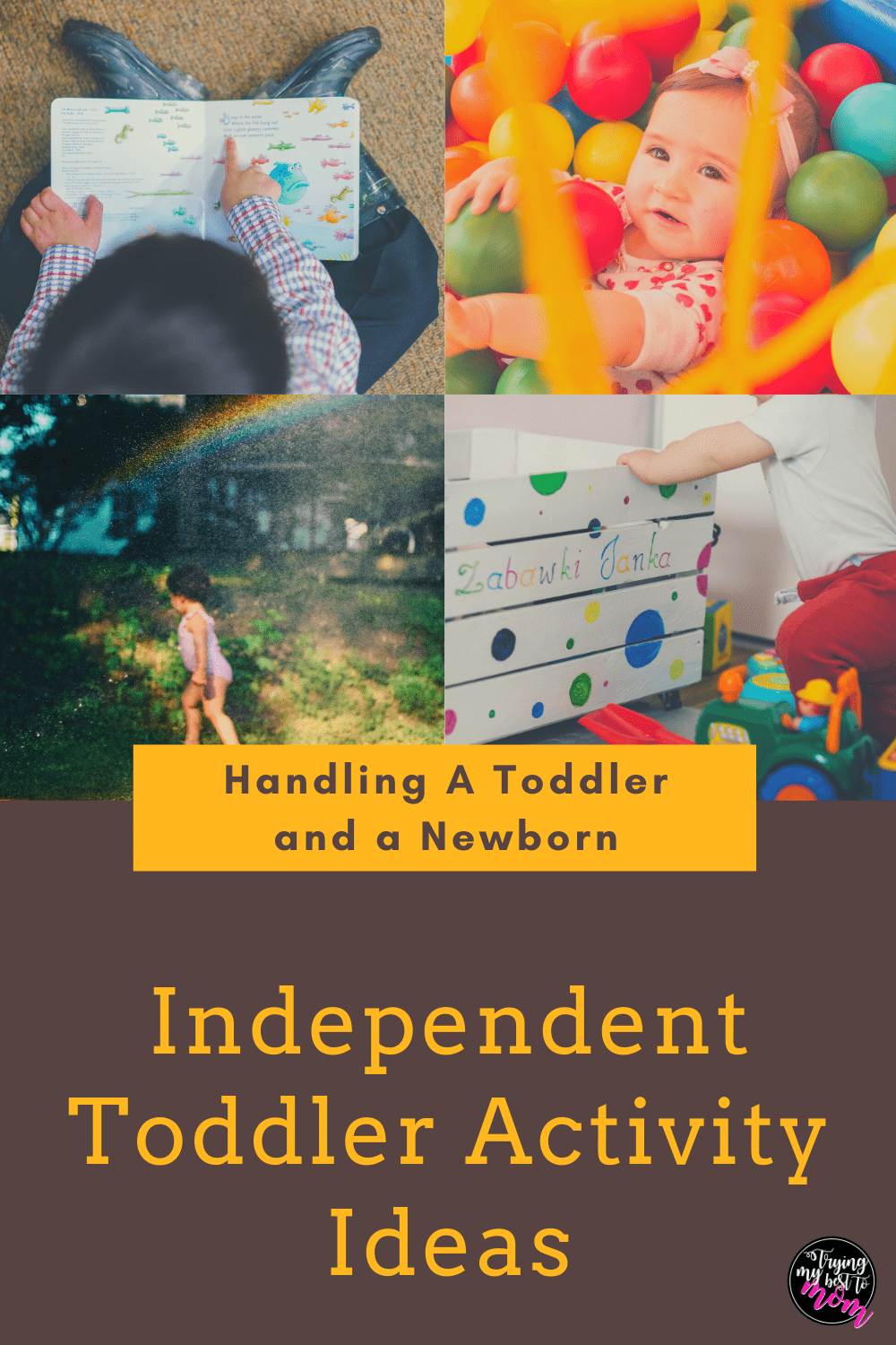 Independent Toddler Play Activities
