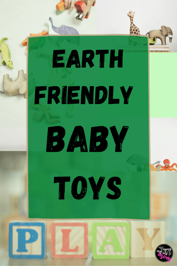wooden baby and toddler animal toys with text earth friendly baby toys