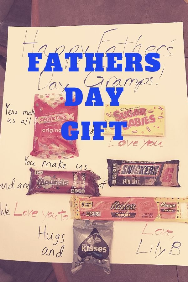 Father's Day Candy Gift