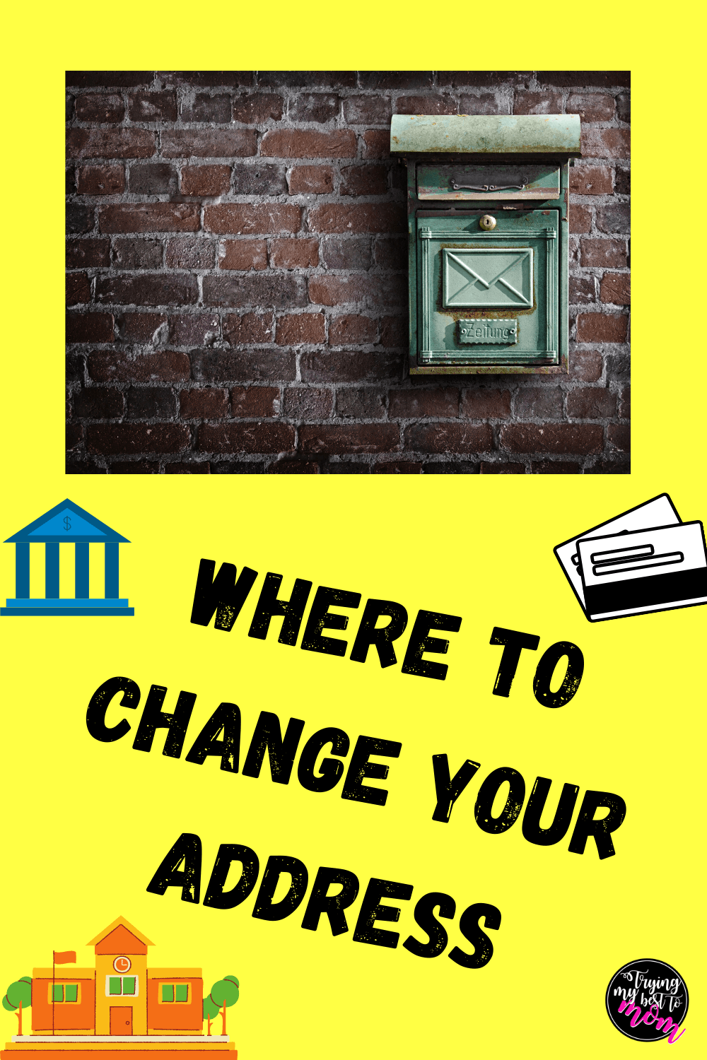 Changing your Address when you move
