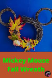 Fall Mickey Wreath