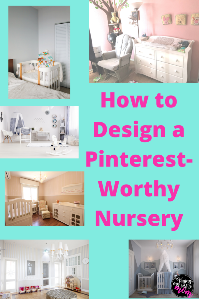 various baby nursery pictures with text how to design a pinterest-worthy nursery