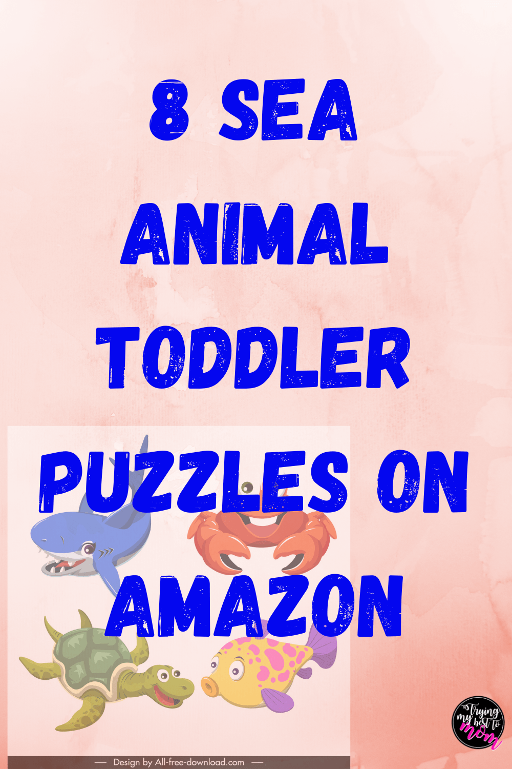 Sea Animal Puzzles for Toddlers