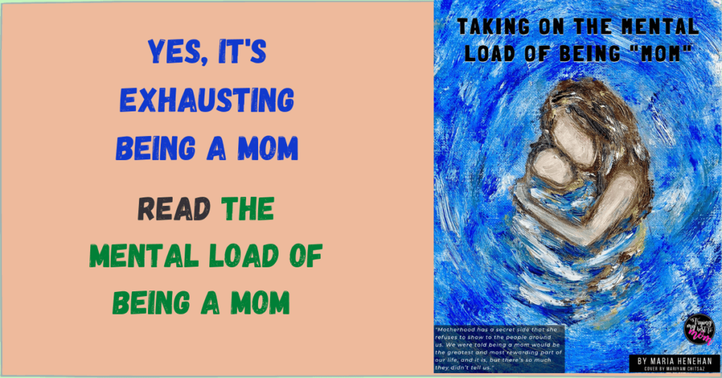 taking on the mental load of being mom book cover